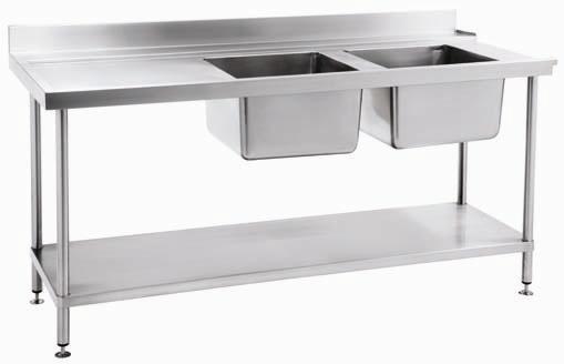Bancadas em aço inox Equipamentos sob medida para restaurantes e cozinha ind # Bancada Cozinha Inox Sob Medida