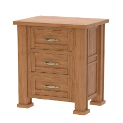 Hagen Nightstand with Drawers