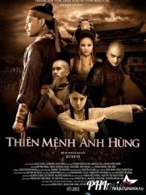 Phim Thiên Mệnh Anh Hùng - Blood Letter (2012)