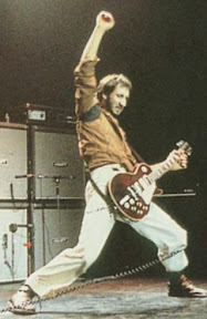 Pete Townshend gave memorable performances. However I am not sure that smashing up my equipment would be a good idea.