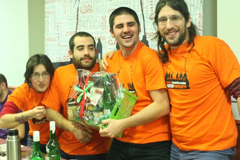 AKBTX 2012: 2. asteburuko karamelua (Ruben Sanchez eta Gaizka Urtaran lizunkerietan)