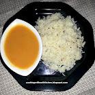 Tariwale alu tamatar-Indian mashed potato