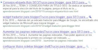 ajuste del titulo de blogger para un mejor posicionamiento seo