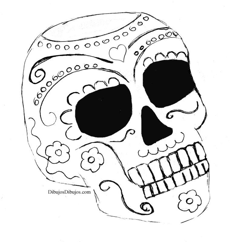 Calaveras Del Día De Los Muertos Dibujos Dibujos