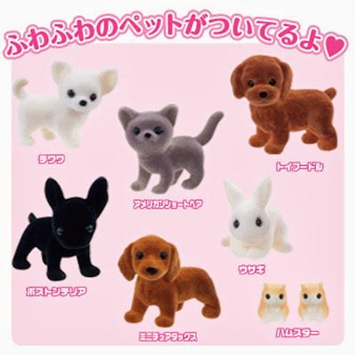 Mô hình con thú trong bộ Pet Shop 4904810482505