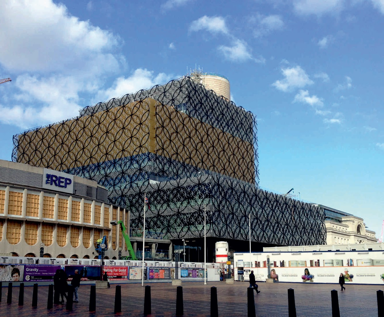 Library: LIBRARY of BIRMINGHAM by MECANOO