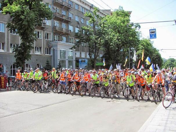 велодень 2013 в Харьков перед стартом