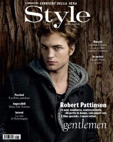 robert pattinson biography and facts. Robert Pattinson takes the