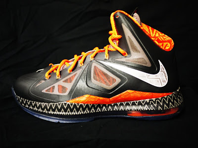 nike lebron 10 gr black history month 3 01 Closer Look at Nike LeBron X Black History Month Exclusive