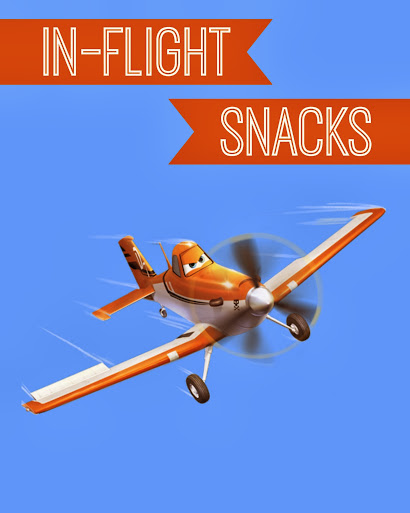 Disney Planes Party Ideas: In-Flight Snacks Sign - Free #Printable #DisneyPlanes
