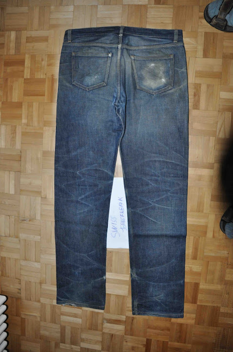 worn apc denim jeans