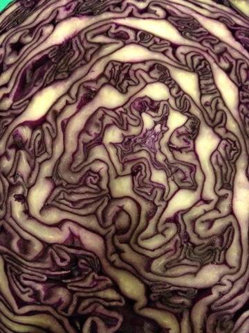 how to make purple cabbage