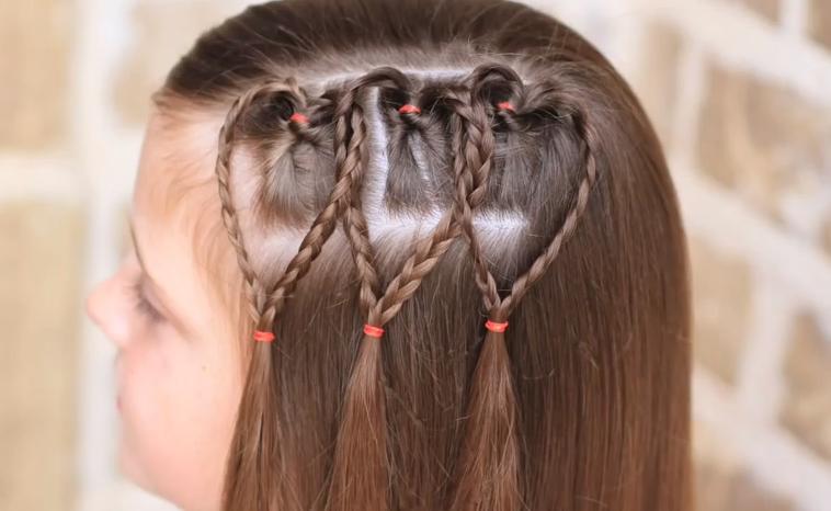 Peinados con trenzas ninas paso a paso