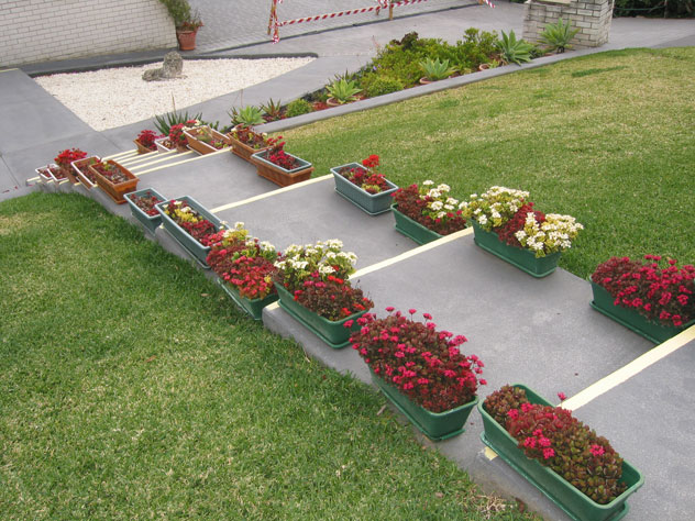 escada para o jardim:Crie Jardim: Idéias para jardins – escadas