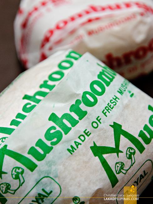 Burgers at Tagaytay's Mushroom Burger