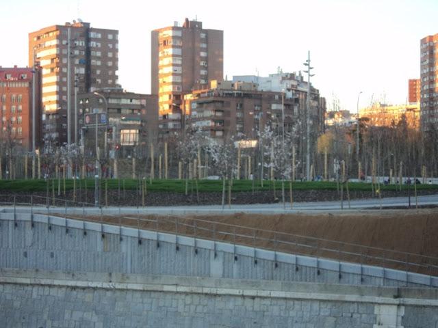 Fotos de Madrid Río. Desde la pasarela en Y hasta los puentes del Matadero
