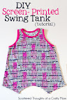 Swing Tank Pattern, sz 3 to 8