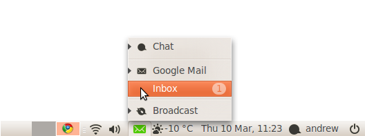 how to add my google mail to my mac inbox