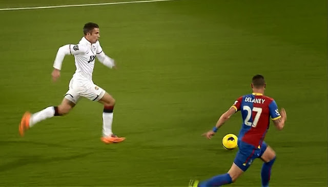 Van Persie, Crystal Palace - Manchester United
