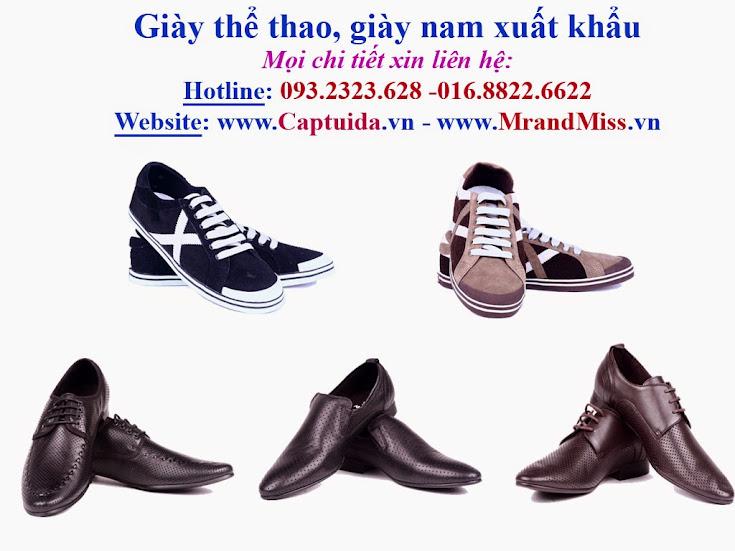 Hàng Việt Nam! Giảm giá 60% mặt hàng Giày da nam, giày da nam xuấ
