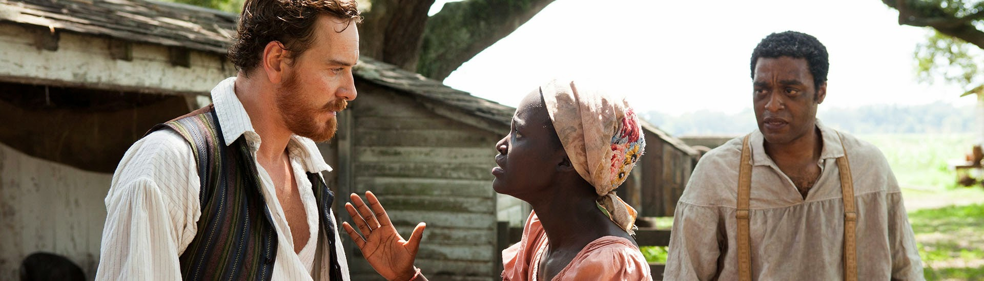 Baner filmu 'Zniewolony. 12 Years A Slave'