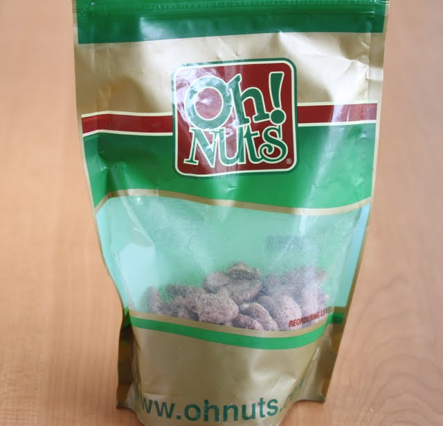 photo of a package of Oh Nuts