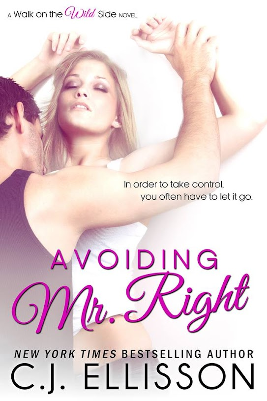Image of Avoiding Mr. Right cover with link to Amazon Book page for purchase