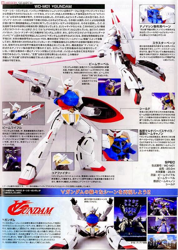 Sáng tạo các tư thế đẹp mắt cùng WD-M01 Turn A Gundam HGCC 1/144