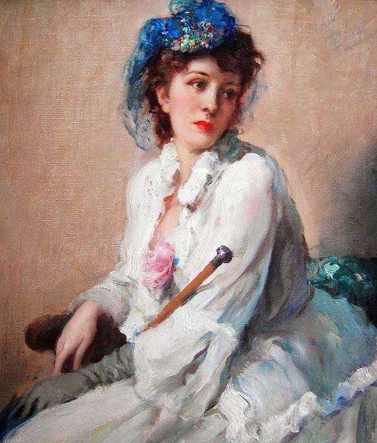 Fernand Toussaint - The Blue Hat