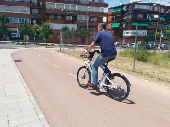 Probamos la bicicleta de BiciMAD