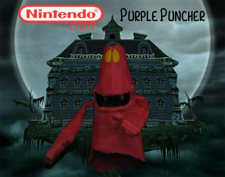 Purple Puncher Papercraft