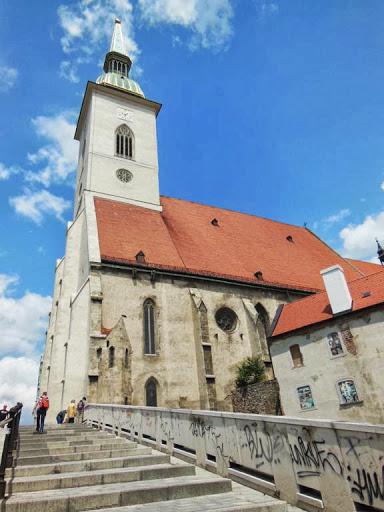 La Catedral de San Martin en Bratislava
