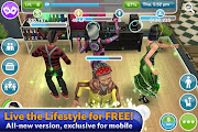 Sims FreePlay Screenshot