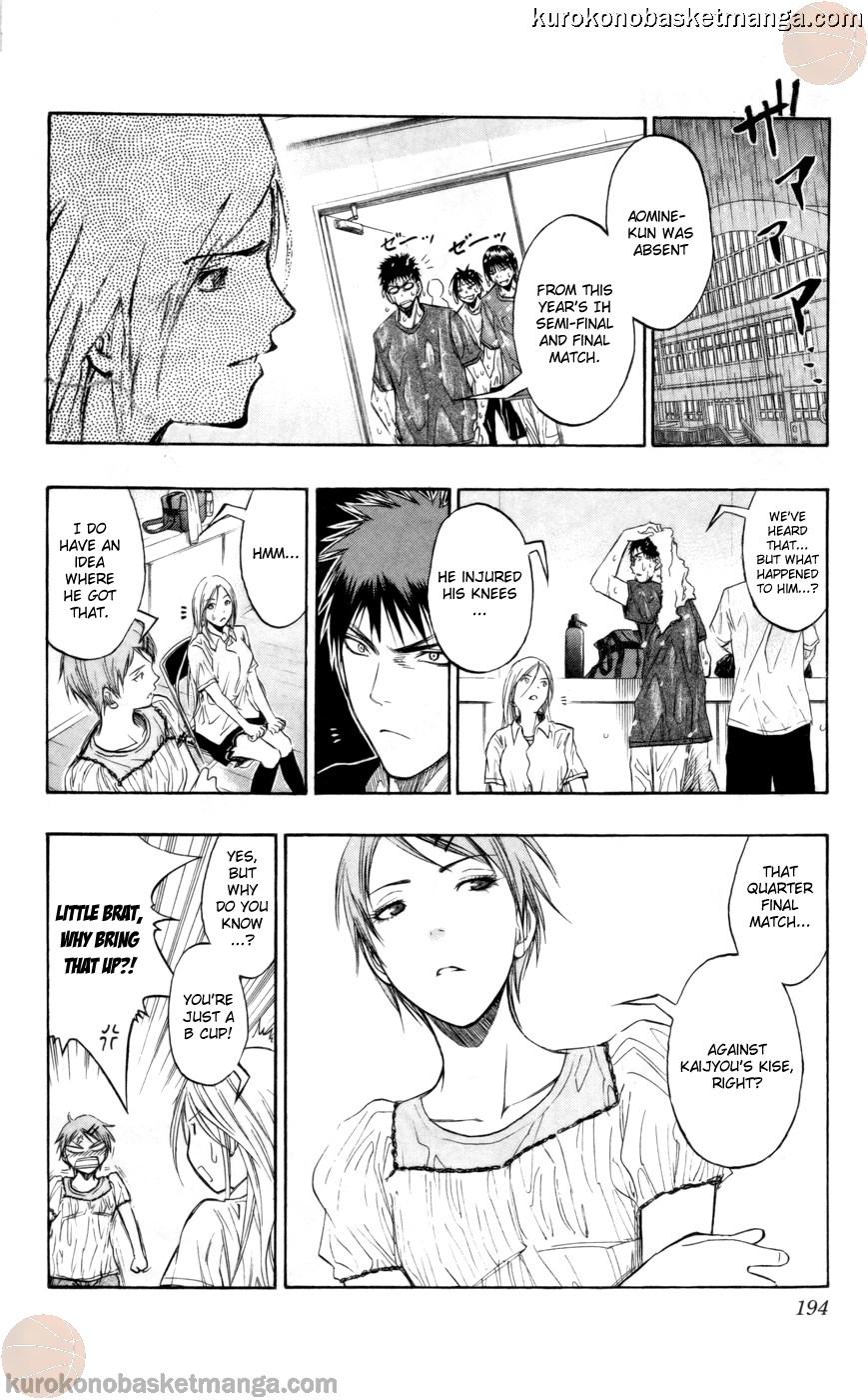 Kuroko no Basket Manga Chapter 80 - Image 08