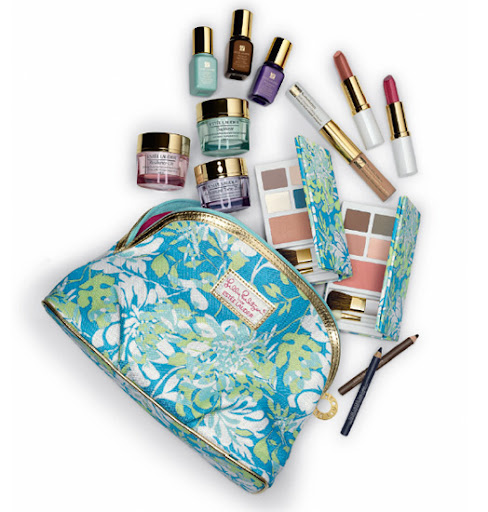 : Estee Lauder Lilly Pulitzer Shadow Floral Gift Set For Spring 2013