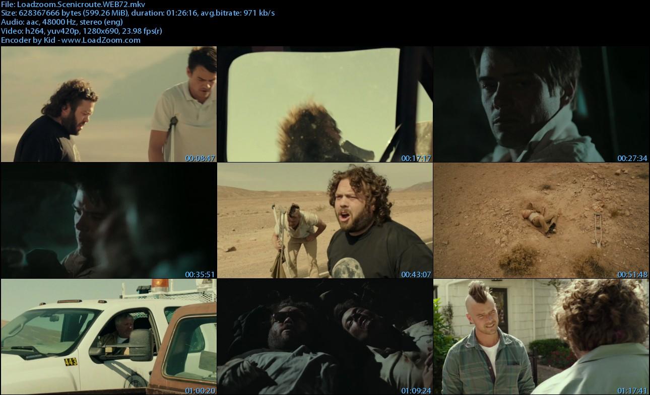 movie screenshot of scenic route fdmovie.com