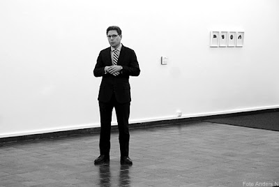 Niclas Östlind, curator, doktorand i foto, fotografi, fotoutställning, göteborgs konsthall, konsthallen, göteborg, foto anders n