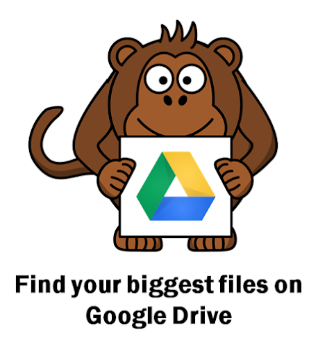 google drive files size icon
