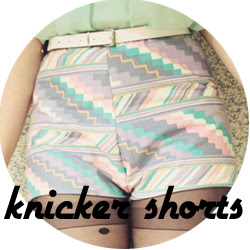 knicker shorts diy
