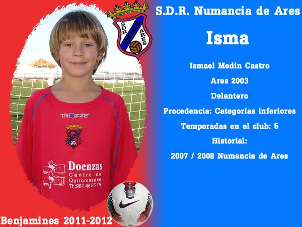 ADR Numancia de Ares. Benxamíns 2011-2012. ISMA.