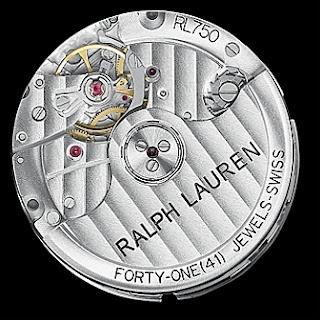 Calibre RL750 Ralph Lauren produit par Jaeger-LeCoultre