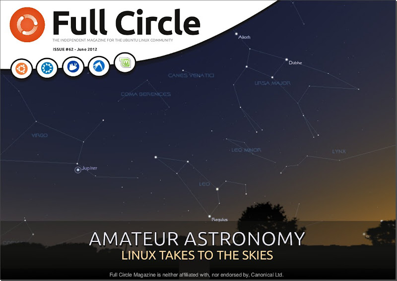Full Circle Magazine Issue 62 out now