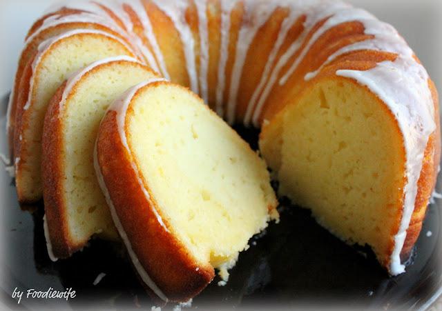 Meyer Lemon Bundt Cake Recipe