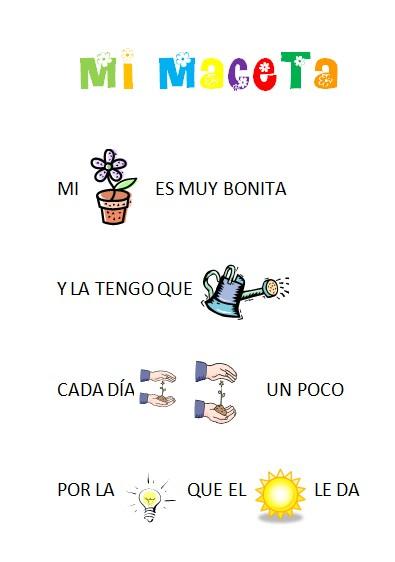Poemas Para Ninos De Plantas