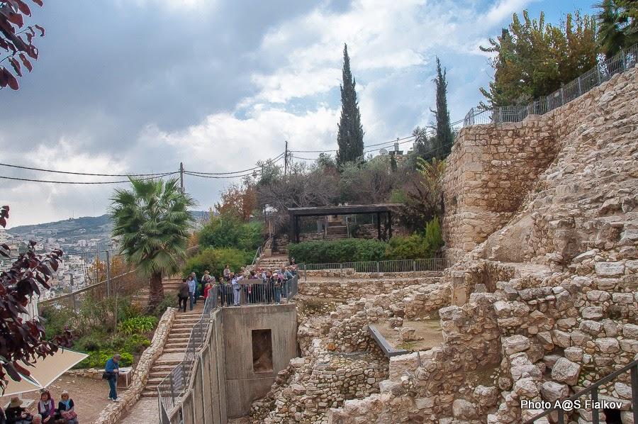 Археологические раскопки в городе Давида. Десятый век до нашей эры. Экскурсия в Иерусалиме Светланы Фиалковой.