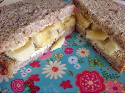 bananen sandwich