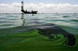Inquinamento da trivella offshore