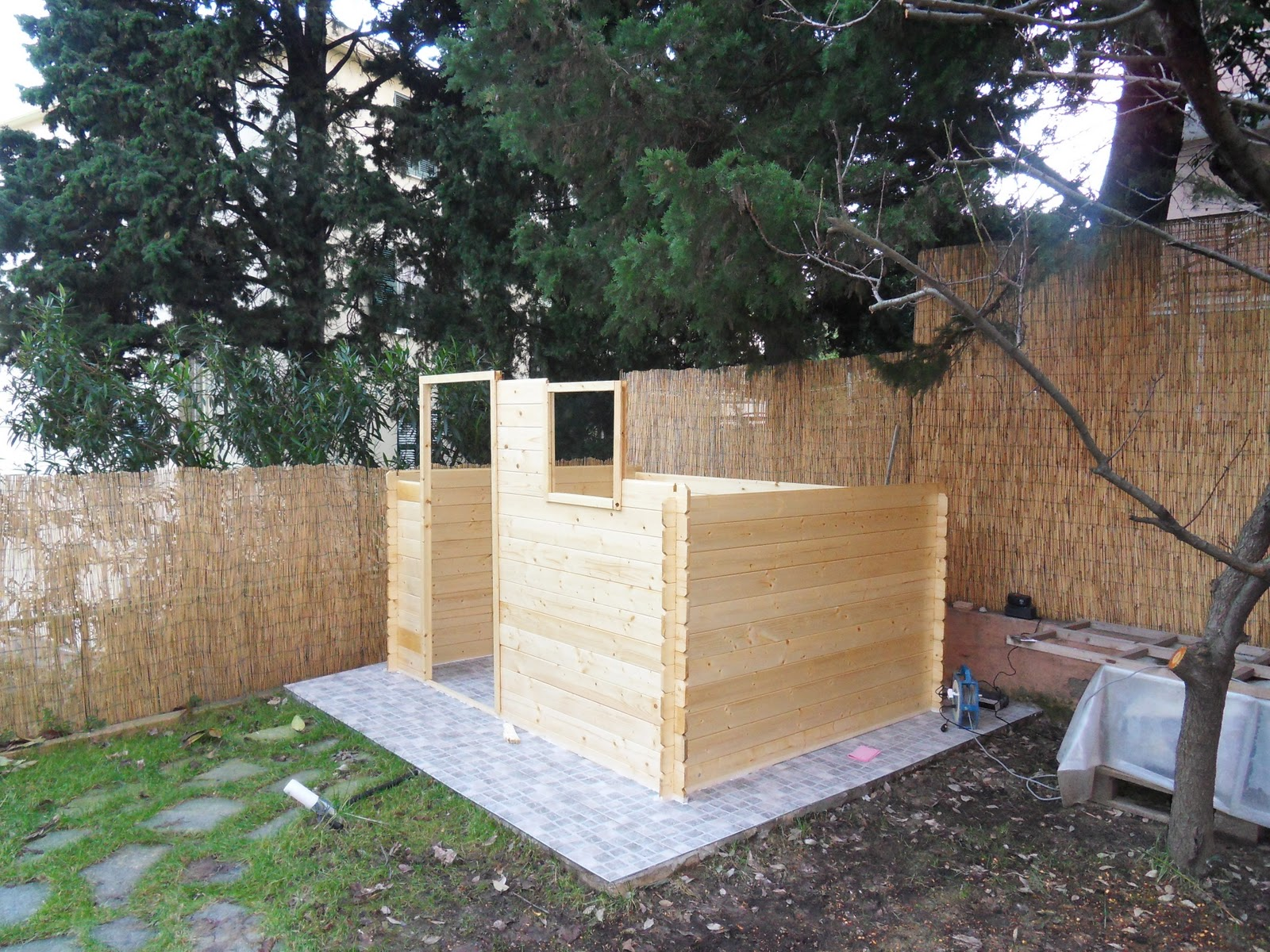 Il tuo architetto a genova febbraio 2011 for Costo casette di legno
