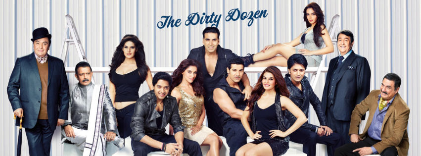 Housefull 2 the dirty dozen facebook cover