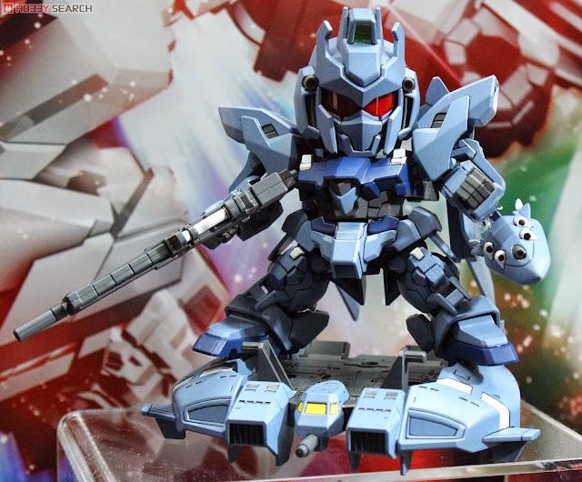 Cùng Delta Plus Super Deformed Gundam Unicorn diễn lại những cảnh chiến đấu hết sức thú vị và độc đáo